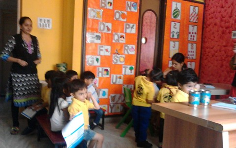 Camp at Kinder Achievers Sep 2015