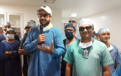 3D Surgery -live Relay to PVR